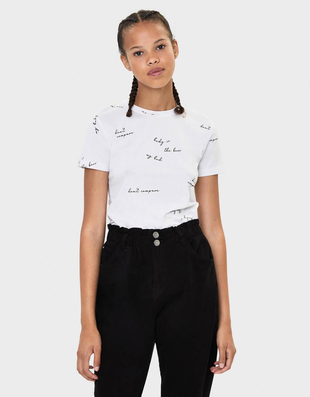 Majica s okruglim ovratnikom