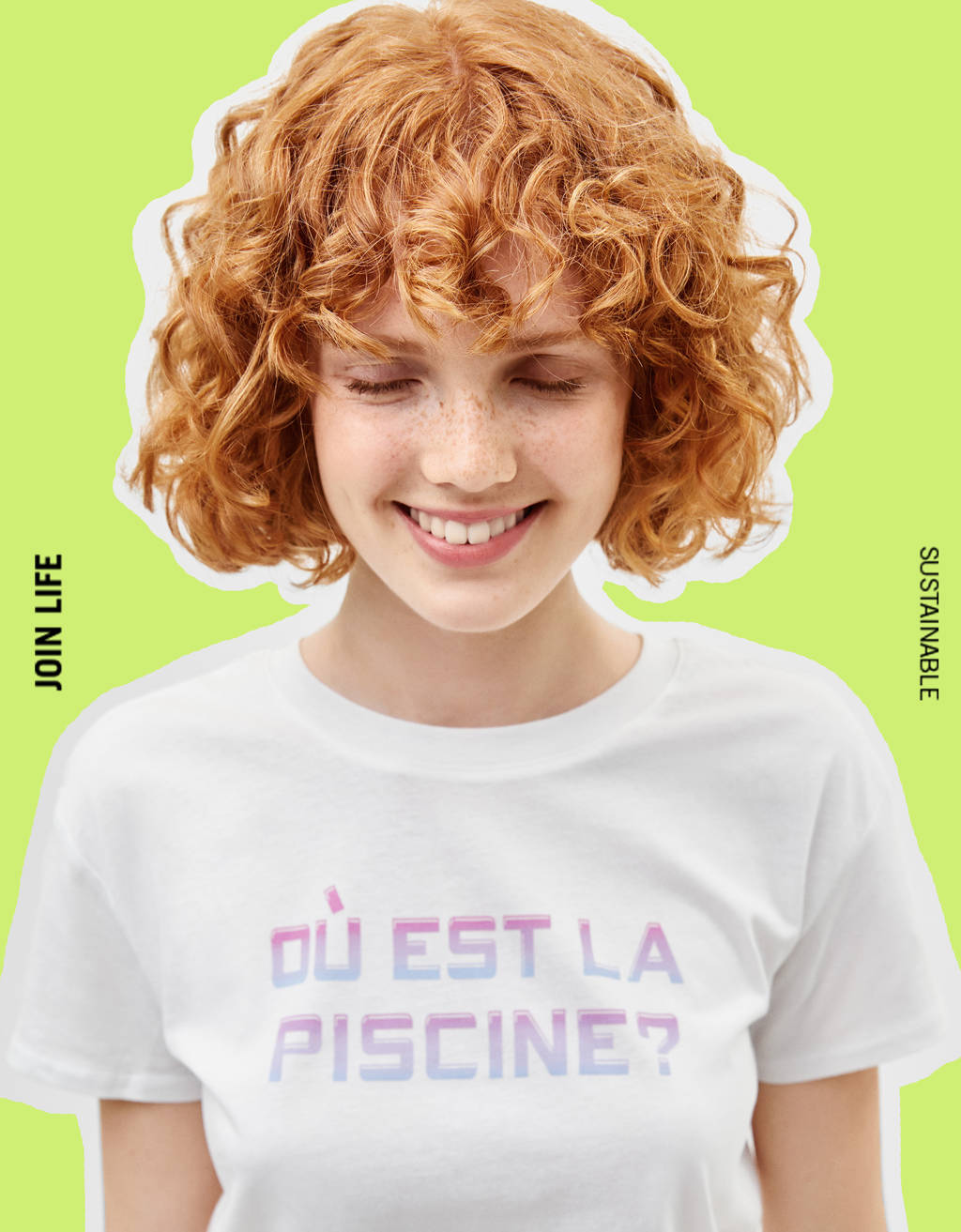 T-shirt com estampado