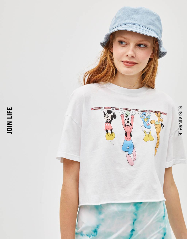 Camiseta con estampado Disney