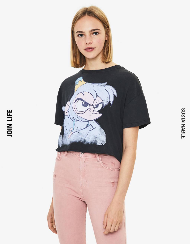 Shirt mit Aladdin-Print