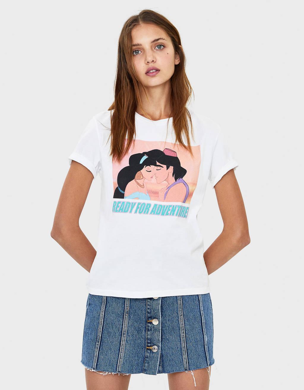 Aladdin-mintás póló