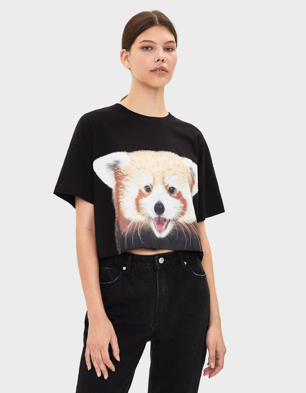 T-shirt com panda da National Geographic