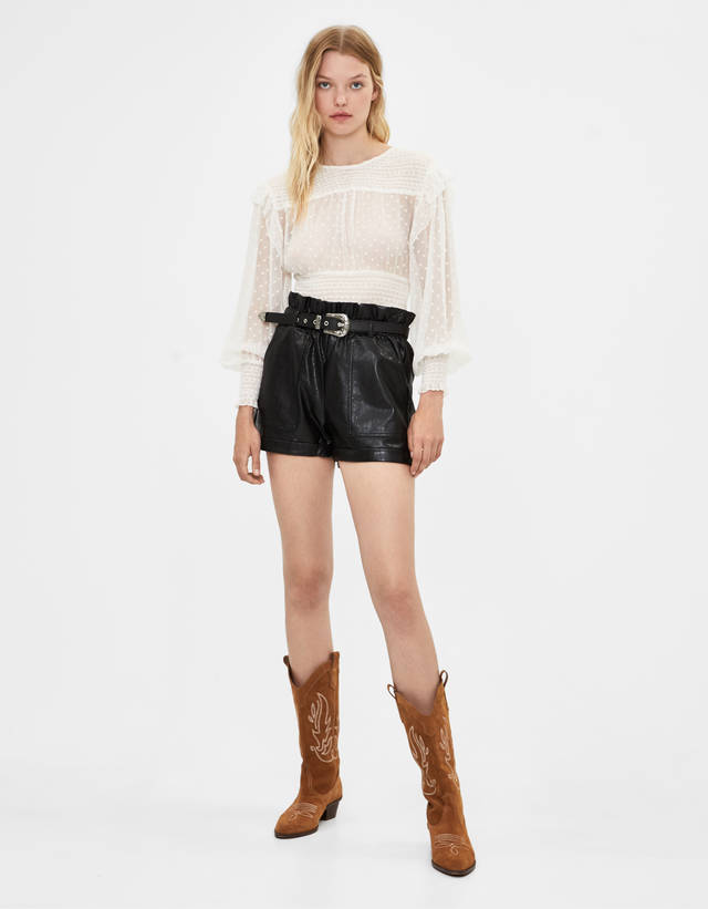 sito affidabile 117f9 25999 Shorts da donna - Autunno 2019 | Bershka Shorts per giorni ...