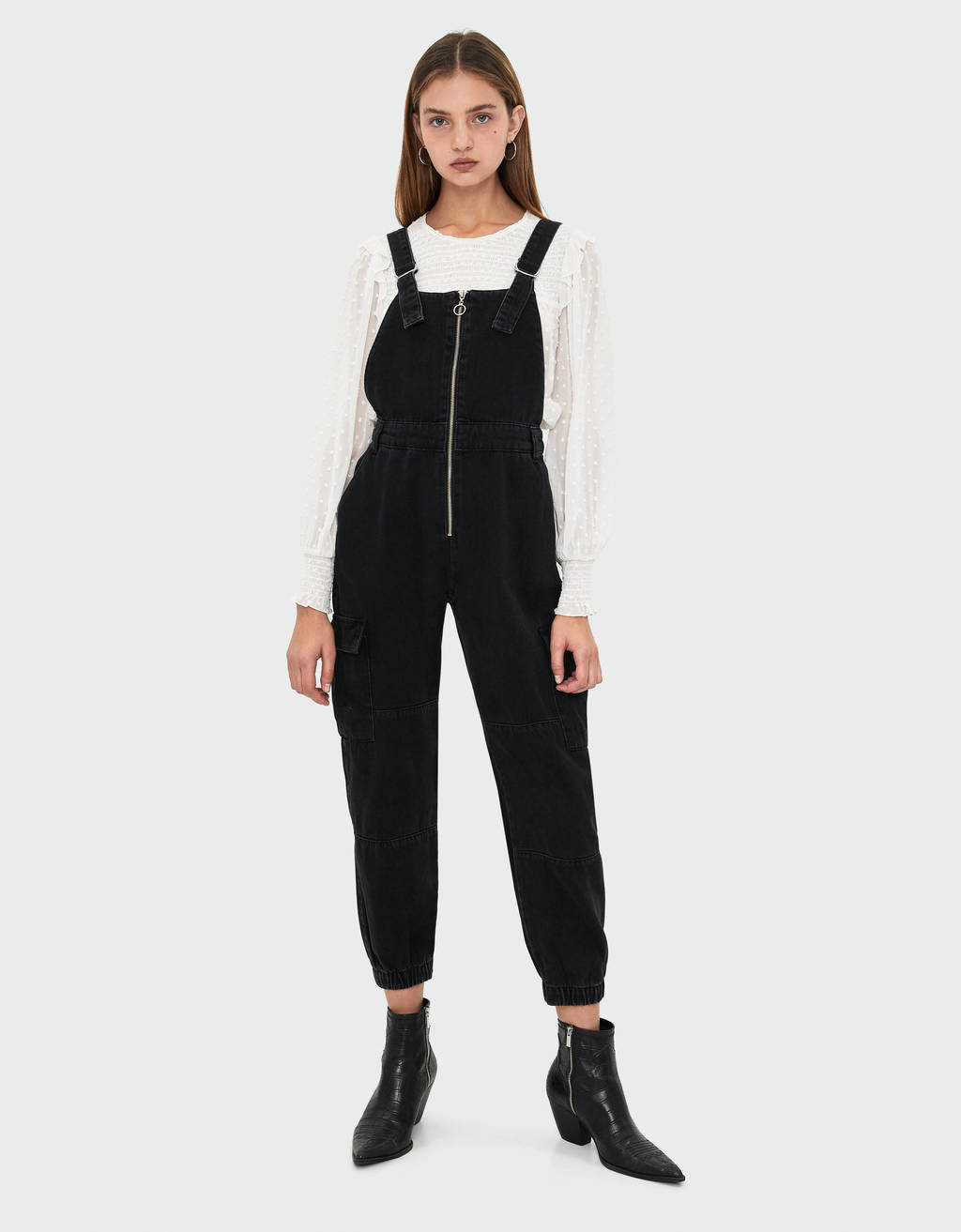 reliable quality 2020 complete range of articles Denim jogger-style dungarees