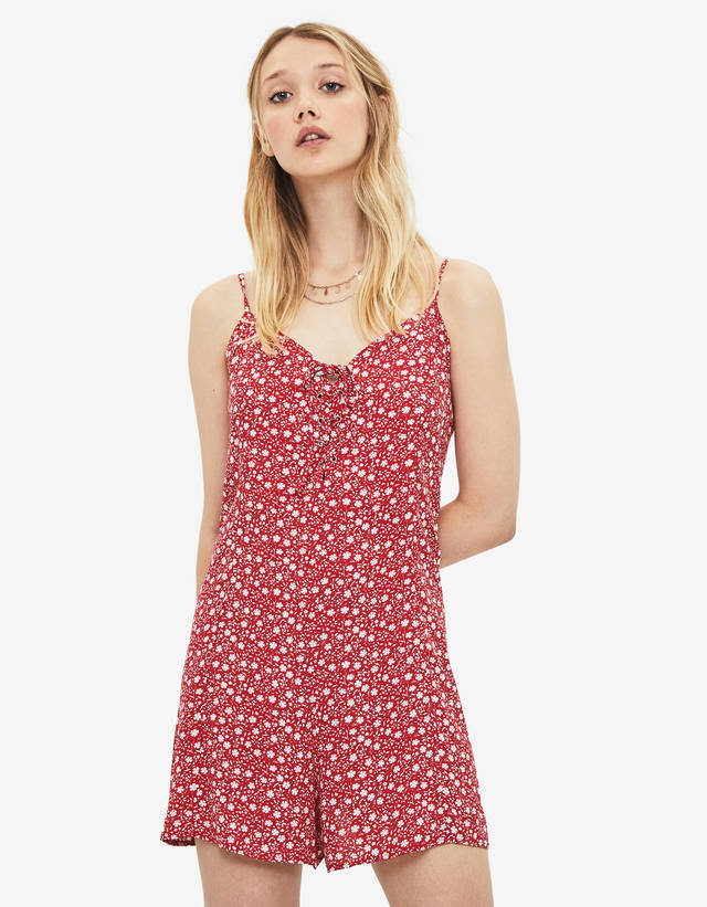 f5522c2a6f77 Short - Jumpsuits & Rompers - COLLECTION - WOMEN - Bershka United States