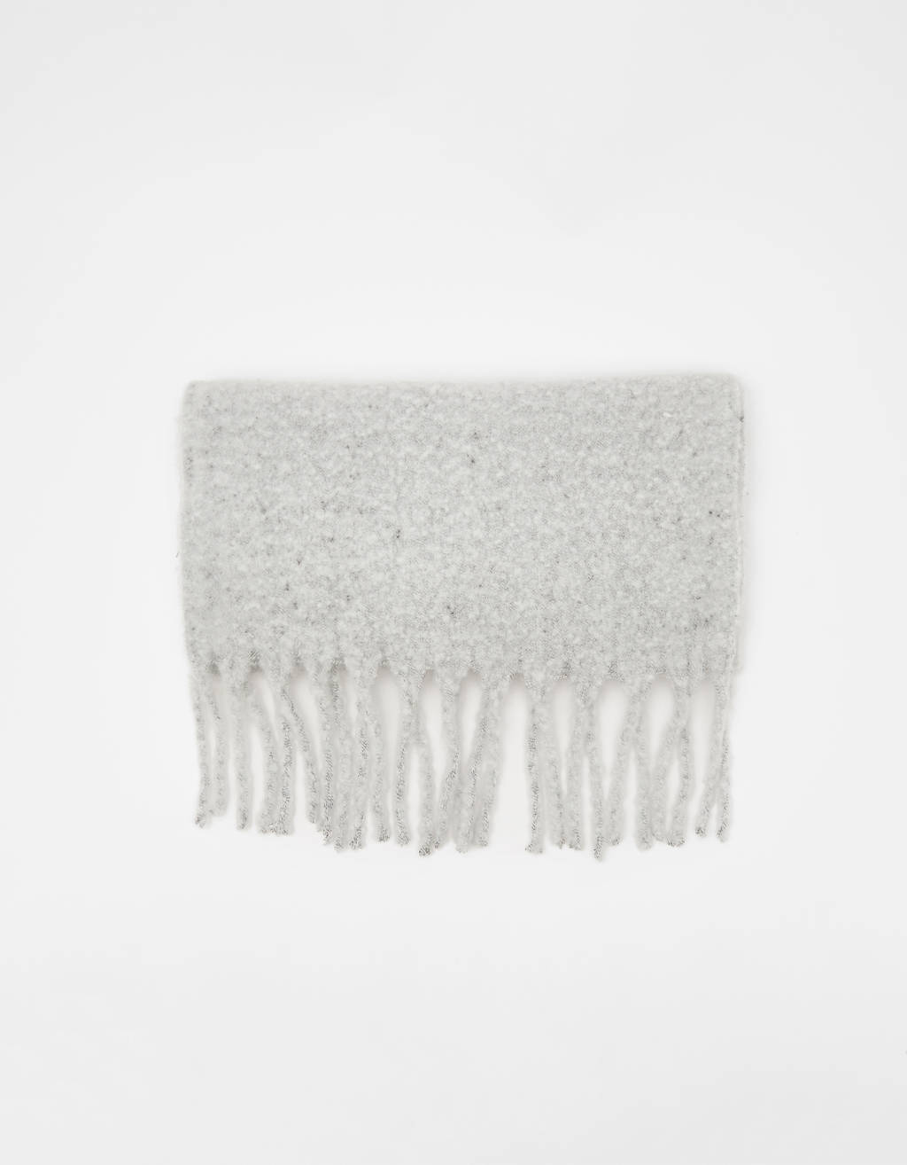Heathered scarf