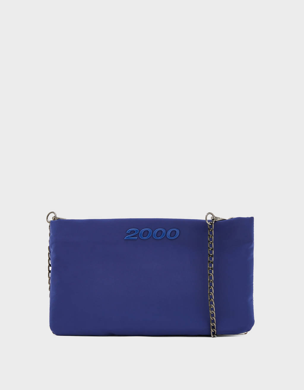 Bolso clutch de nylon