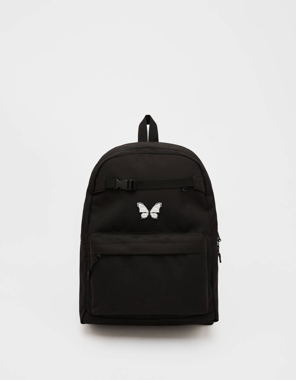 Multipocket Backpack With Butterfly   Bags   Bershka Ireland by Bershka