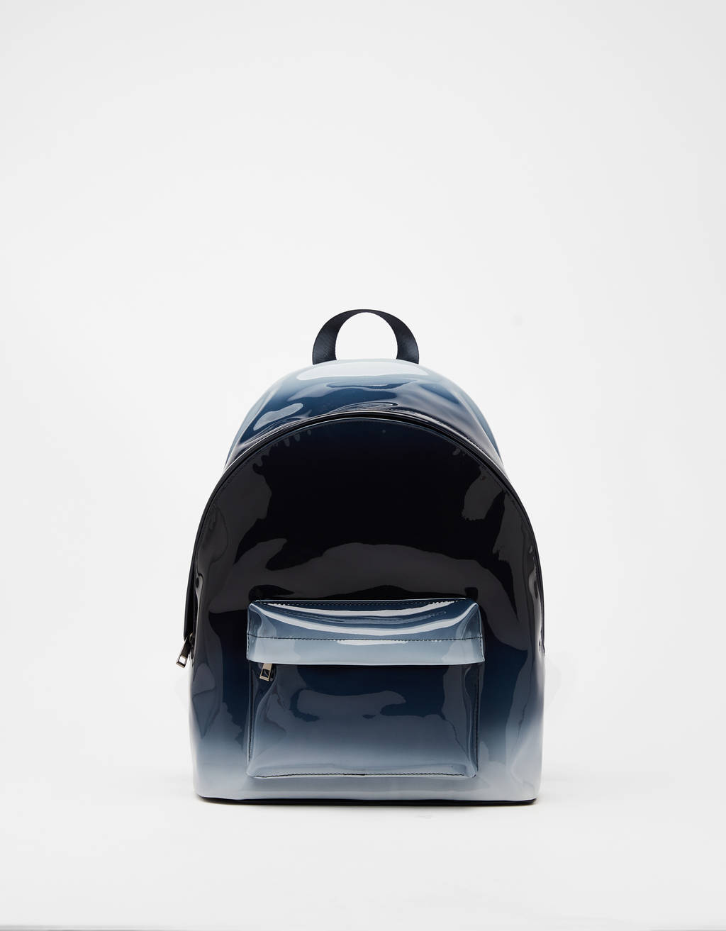Ombré vinyl backpack