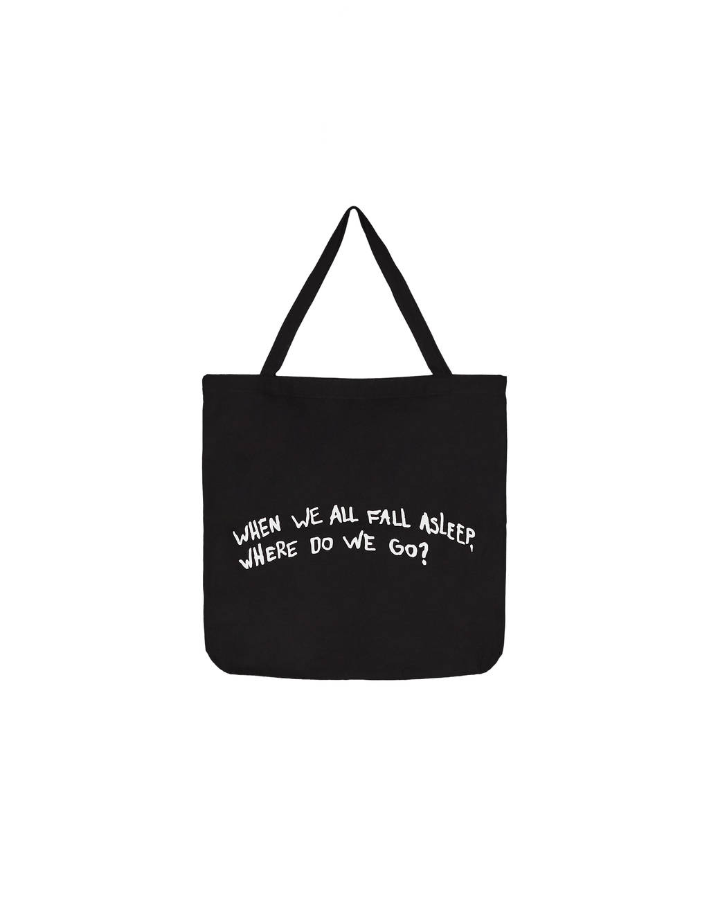 Billie Eilish x Bershka tote bag