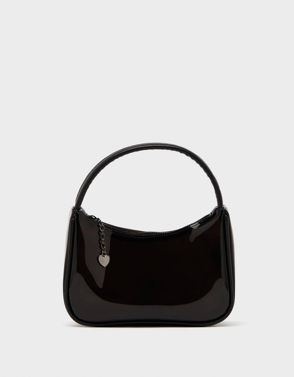 Vinyl handbag