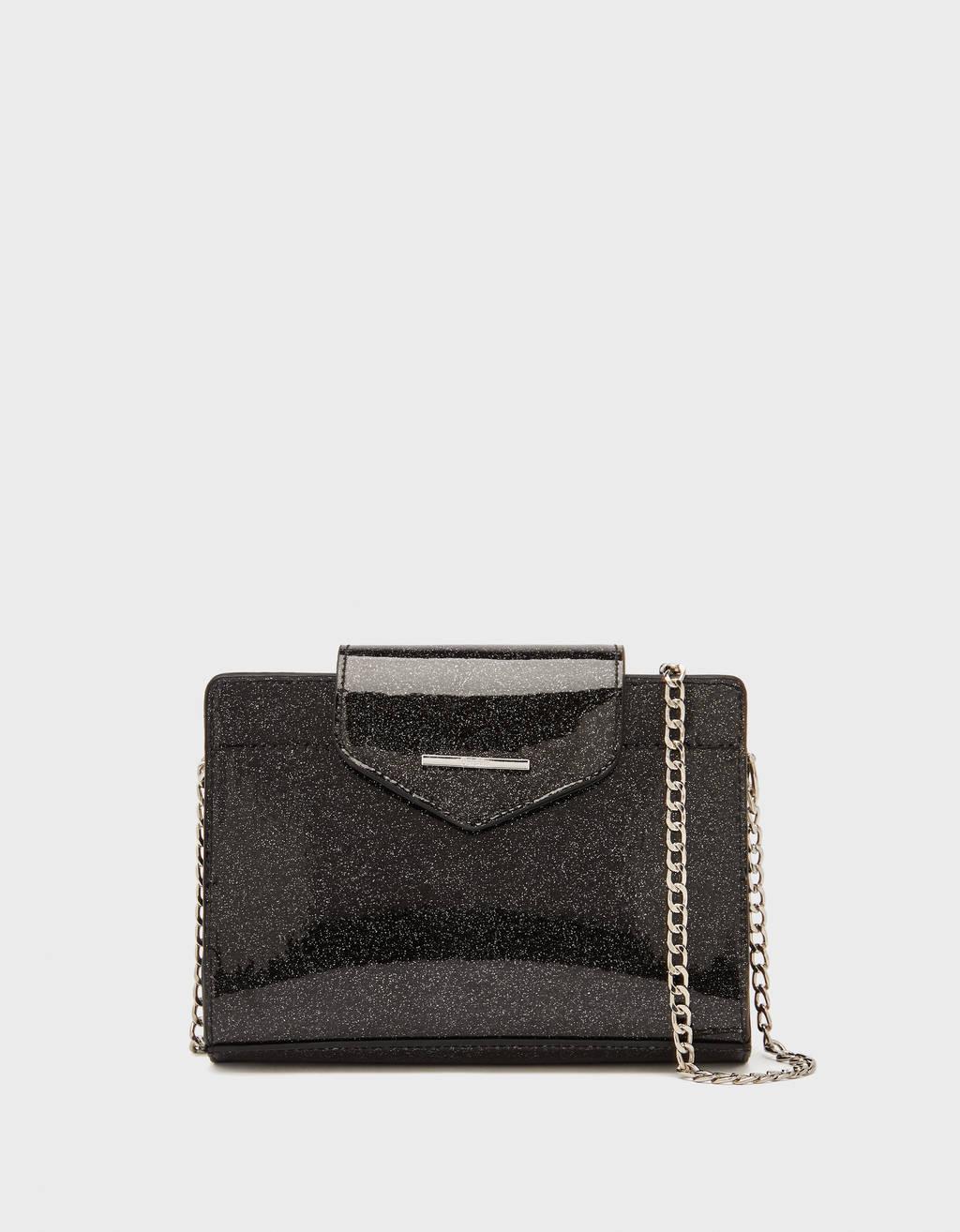Handbag with shimmer