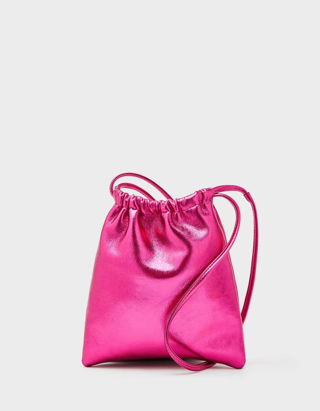 Metallic pouch-style bag