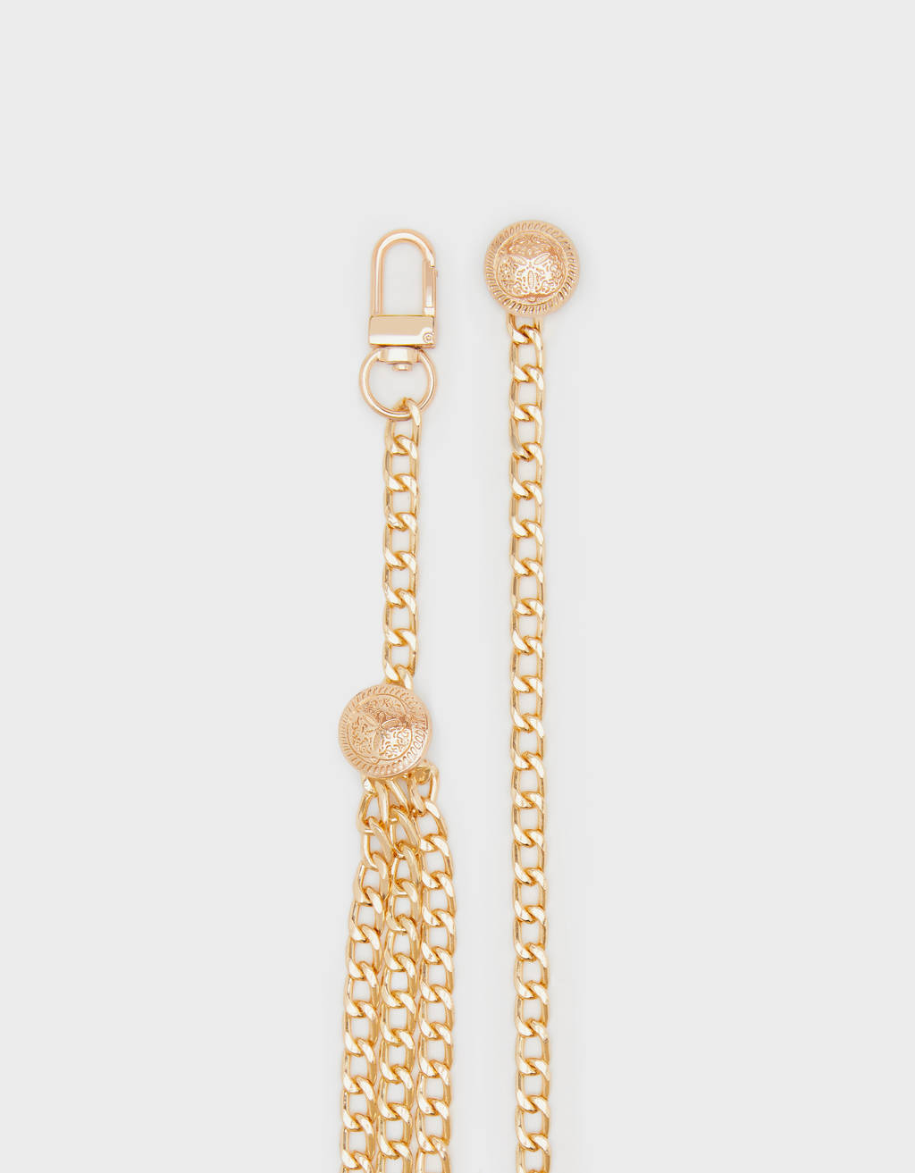 Gold-toned chain