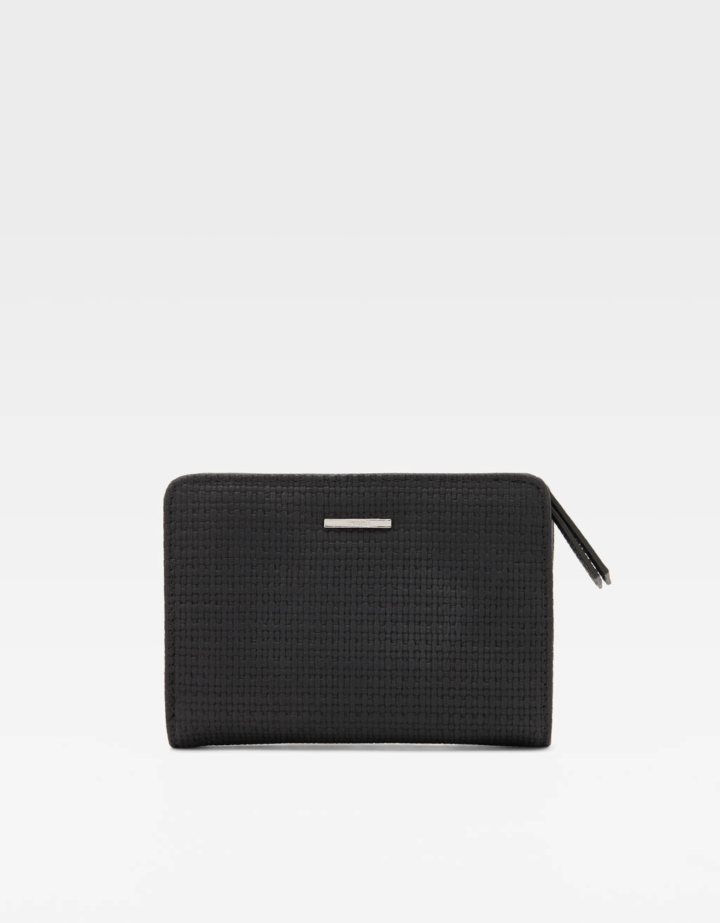 Square Purse With Detailing by Bershka