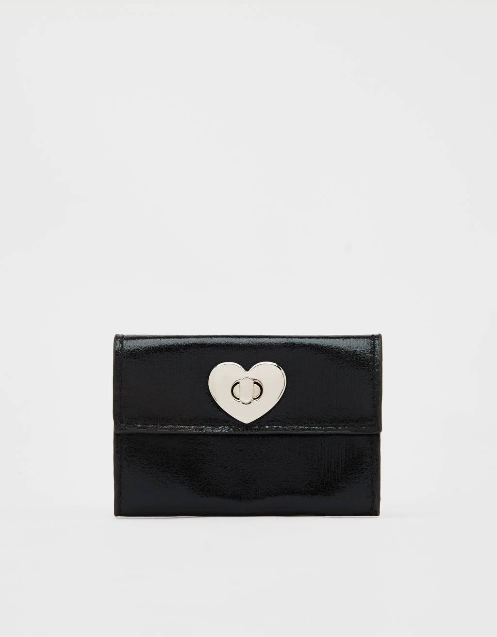 Coin purse with heart