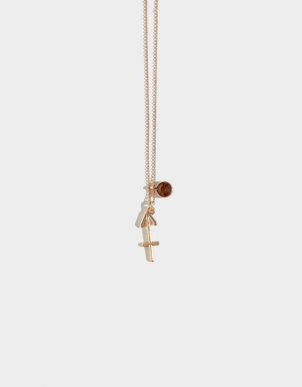Sagittarius star sign necklace