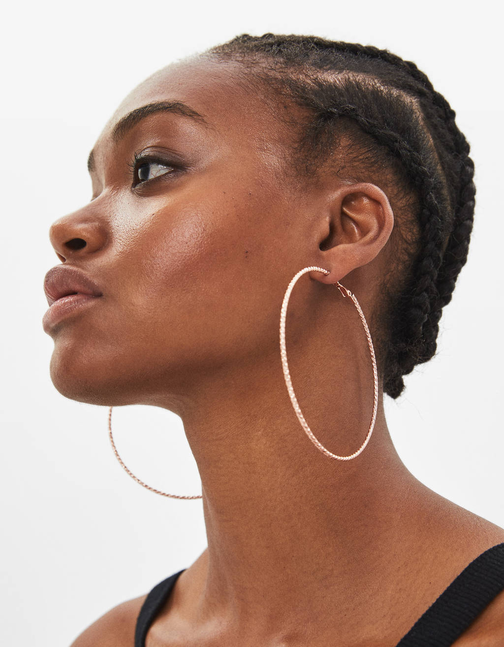 Maxi hoop earrings