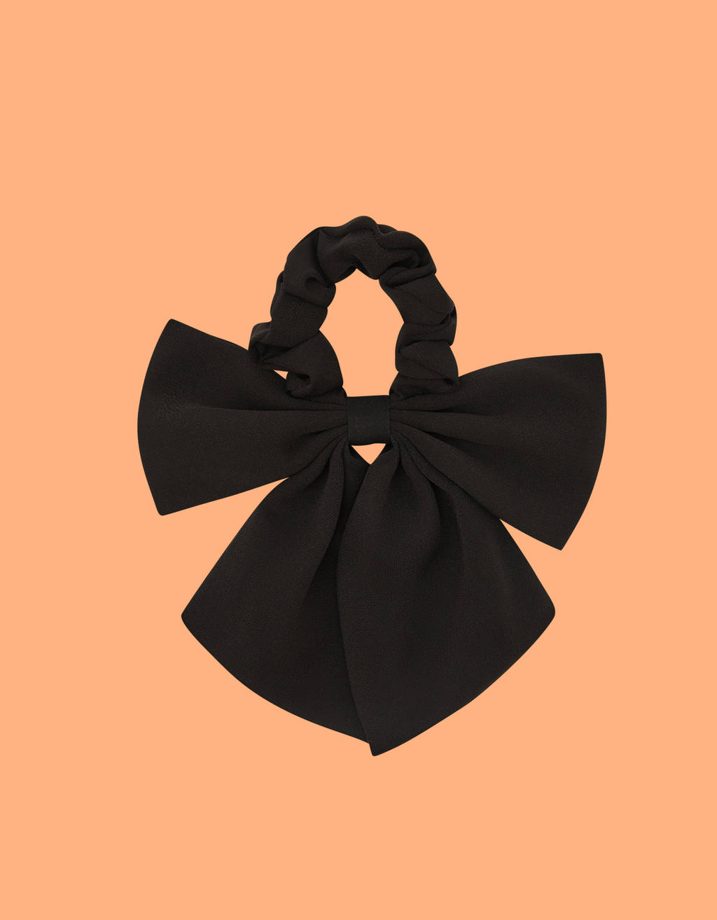Scrunchie with tie