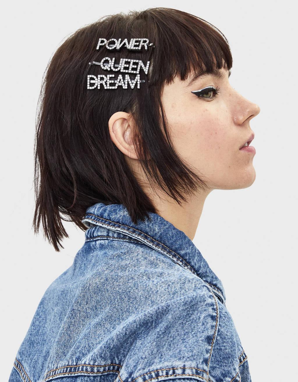 Rhinestone hair clips