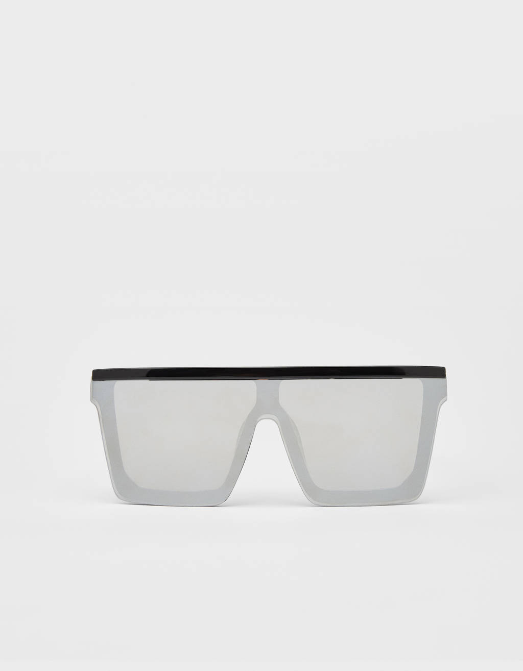 Mirrored screen sunglasses