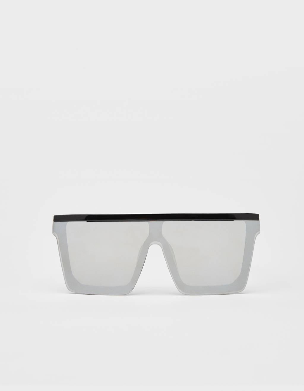 Spiegelende bril
