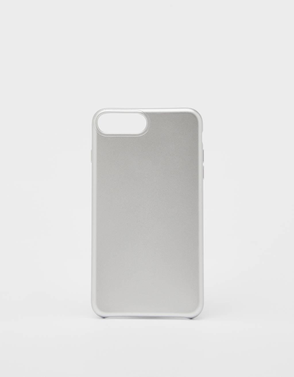 Capa em cor lisa iPhone 6 plus / 7 plus / 8 plus