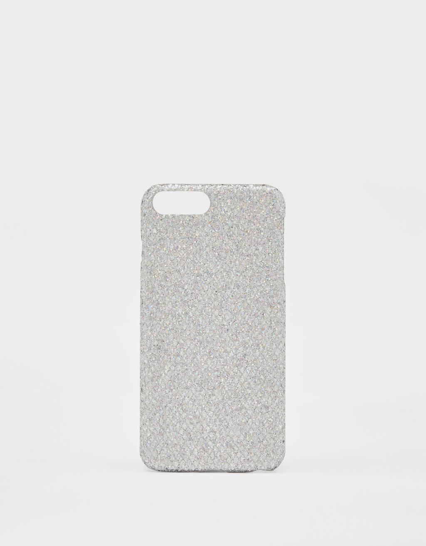 Carcasa con brillos iPhone 6 plus / 7 plus / 8 plus