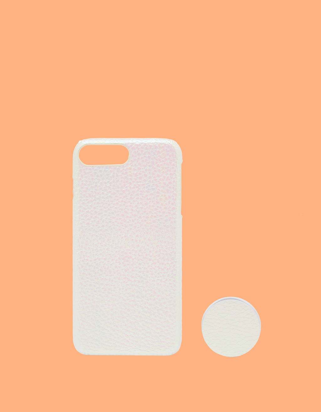 iPhone 6 Plus / 7 Plus / 8 Plus case with adhesive ring