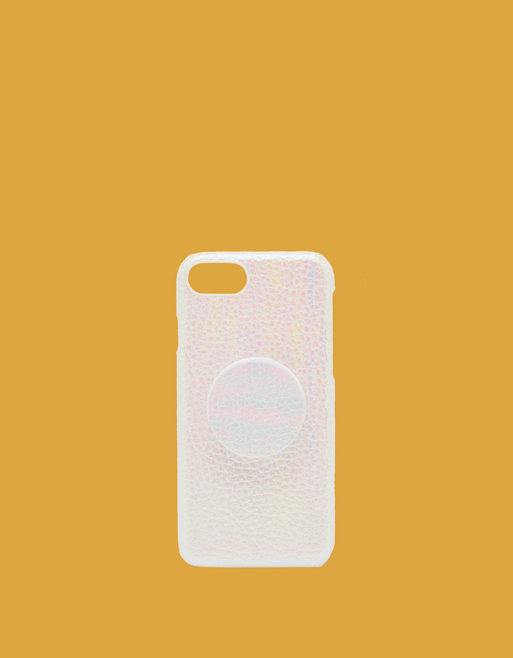 iPhone 6 / 7 / 8 case with adhesive ring