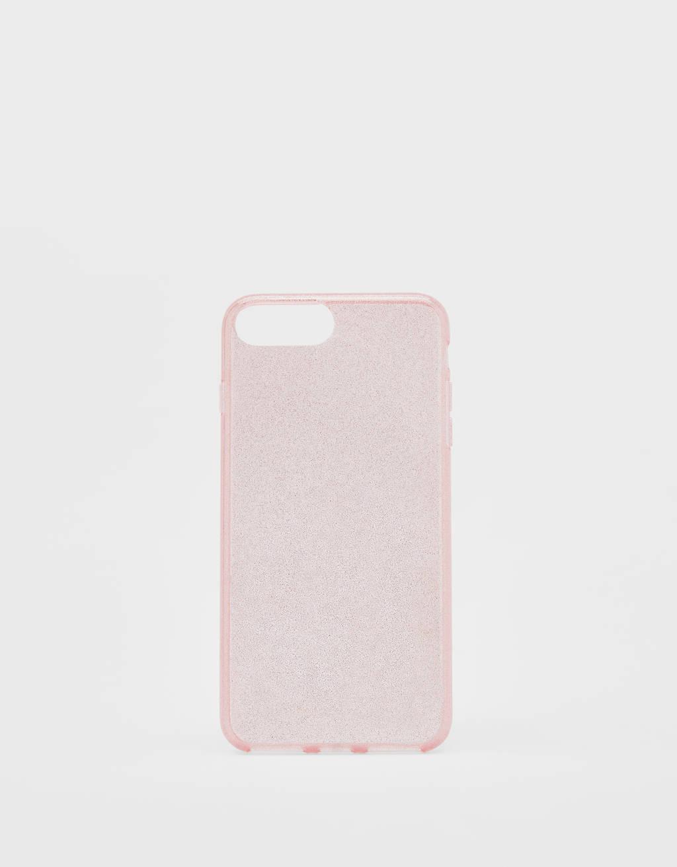 Capa com purpurina iPhone 6 plus / 7 plus / 8 plus