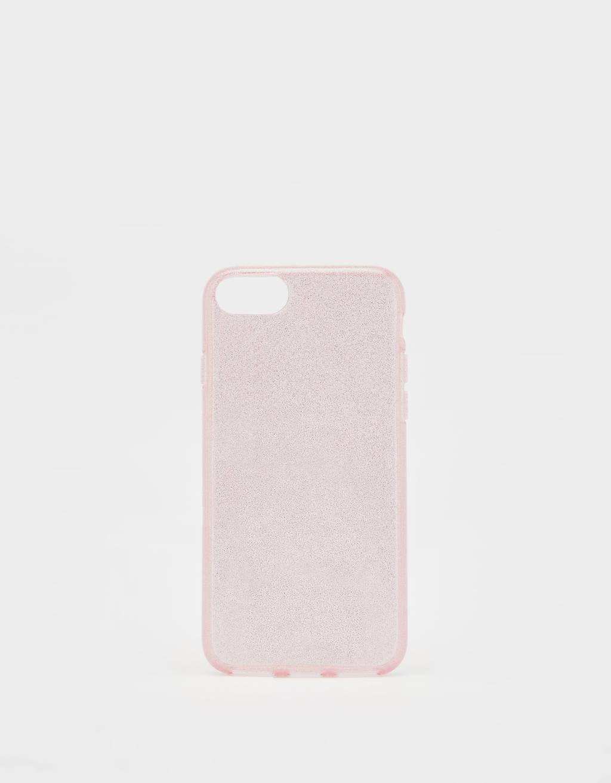 Carcasa con purpurina iPhone 6 / 7 / 8