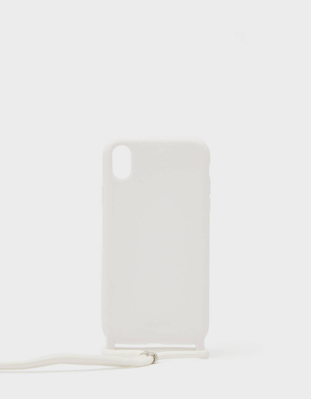 iPhone XR case with cord
