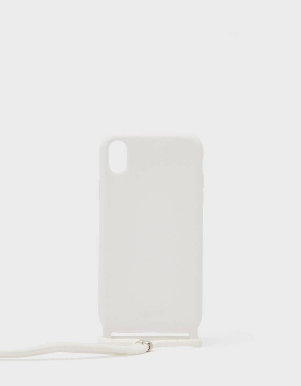 Kordonlu iPhone XR telefon kılıfı