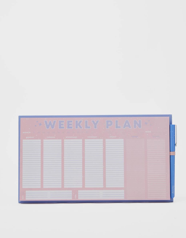 Planner tygodniowy