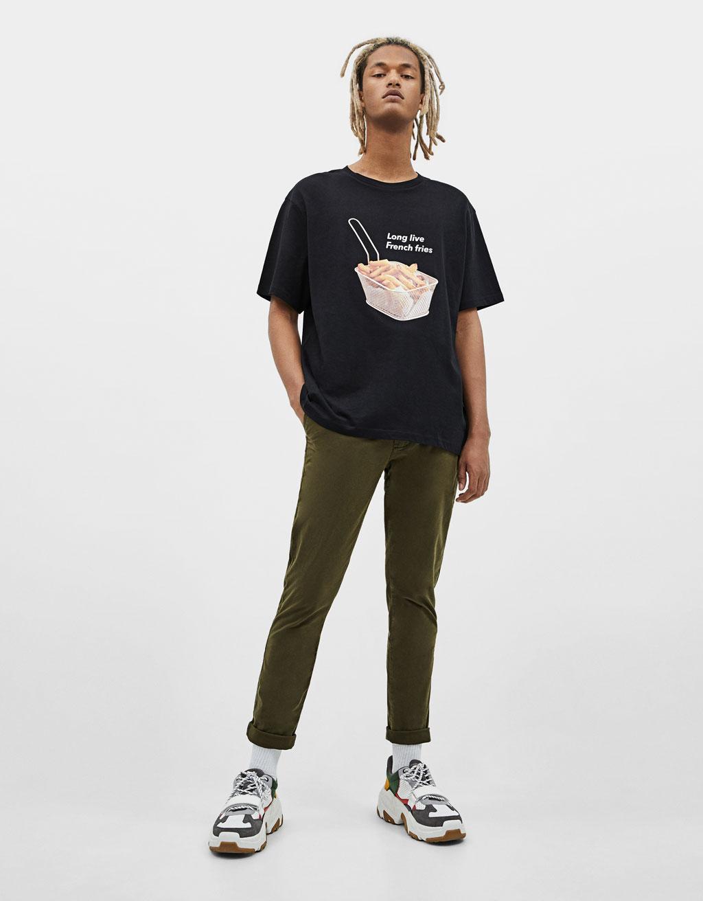 Calças chinos Skinny Fit