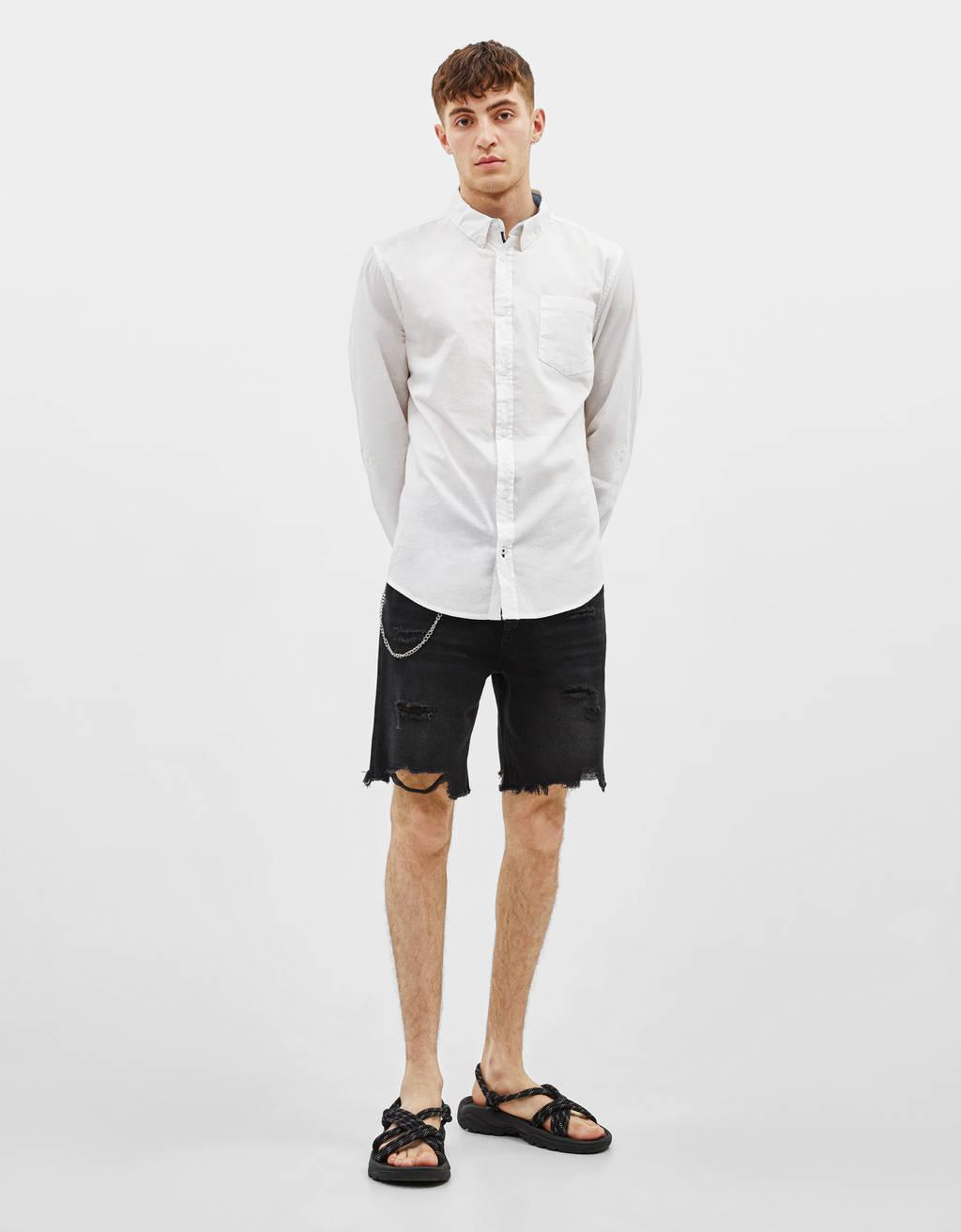 Camisa con manga larga