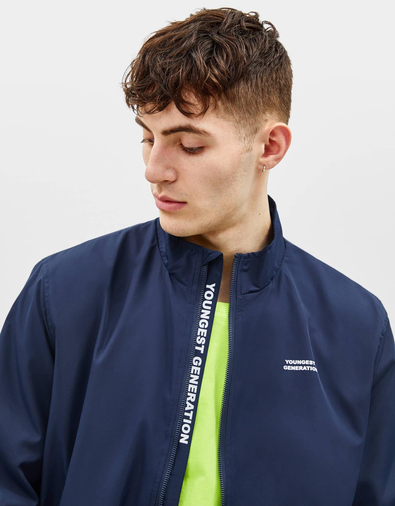 1d18b3cb8f Jacket with wraparound collar
