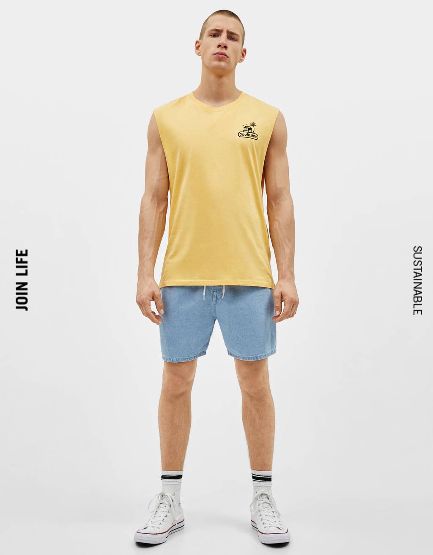 9736a0c92d Tirantes - Camisetas - COLECCIÓN - HOMBRE - Bershka España