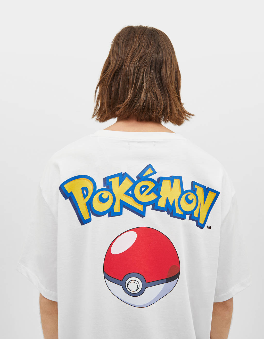 Camiseta estampado Pokémon