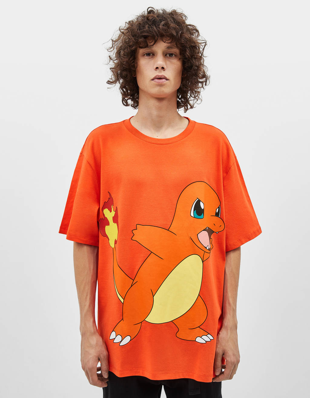 T-shirt met Pokemon print