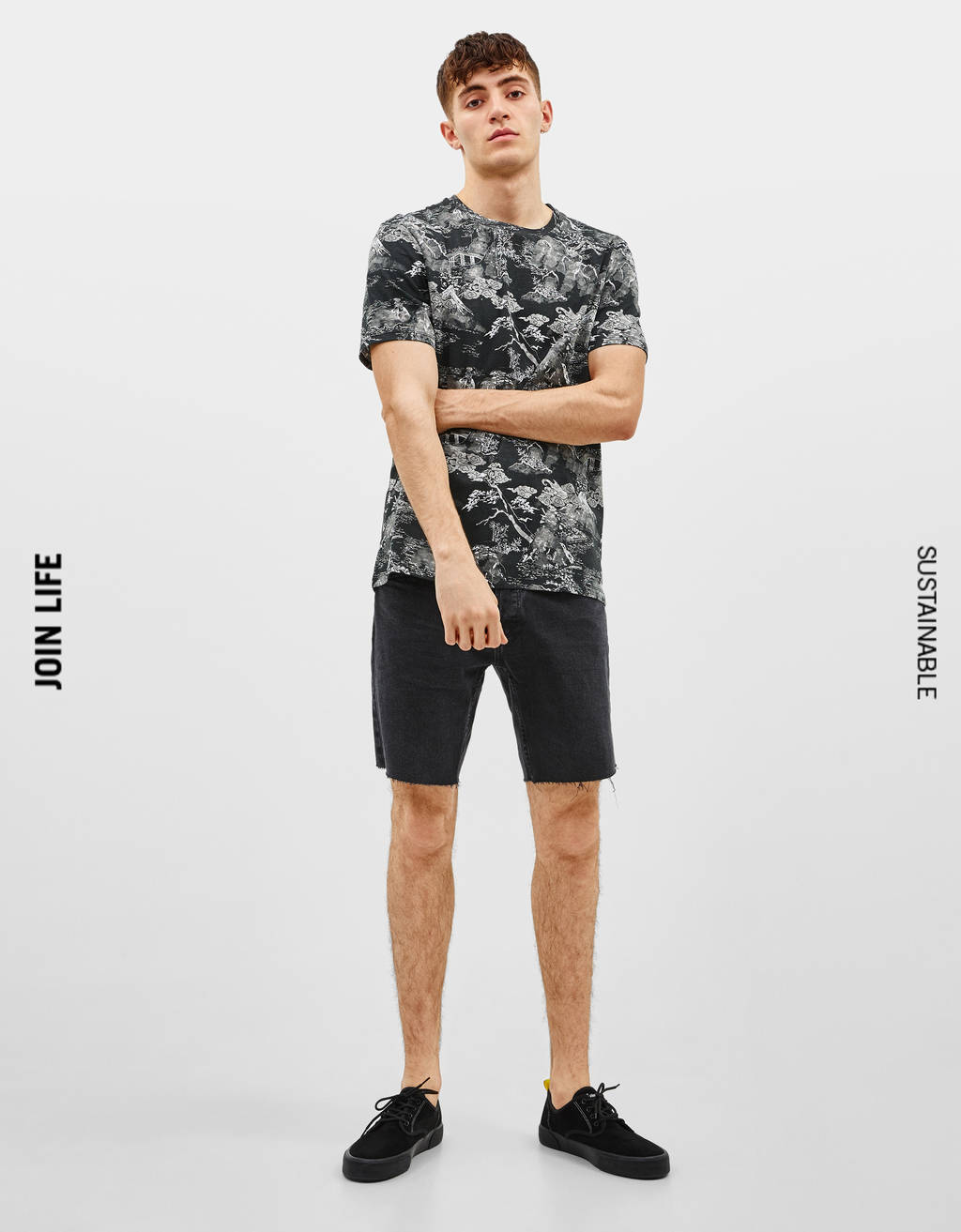4a355f4f1039 Men's T-Shirts - Spring Summer 2019 | Bershka