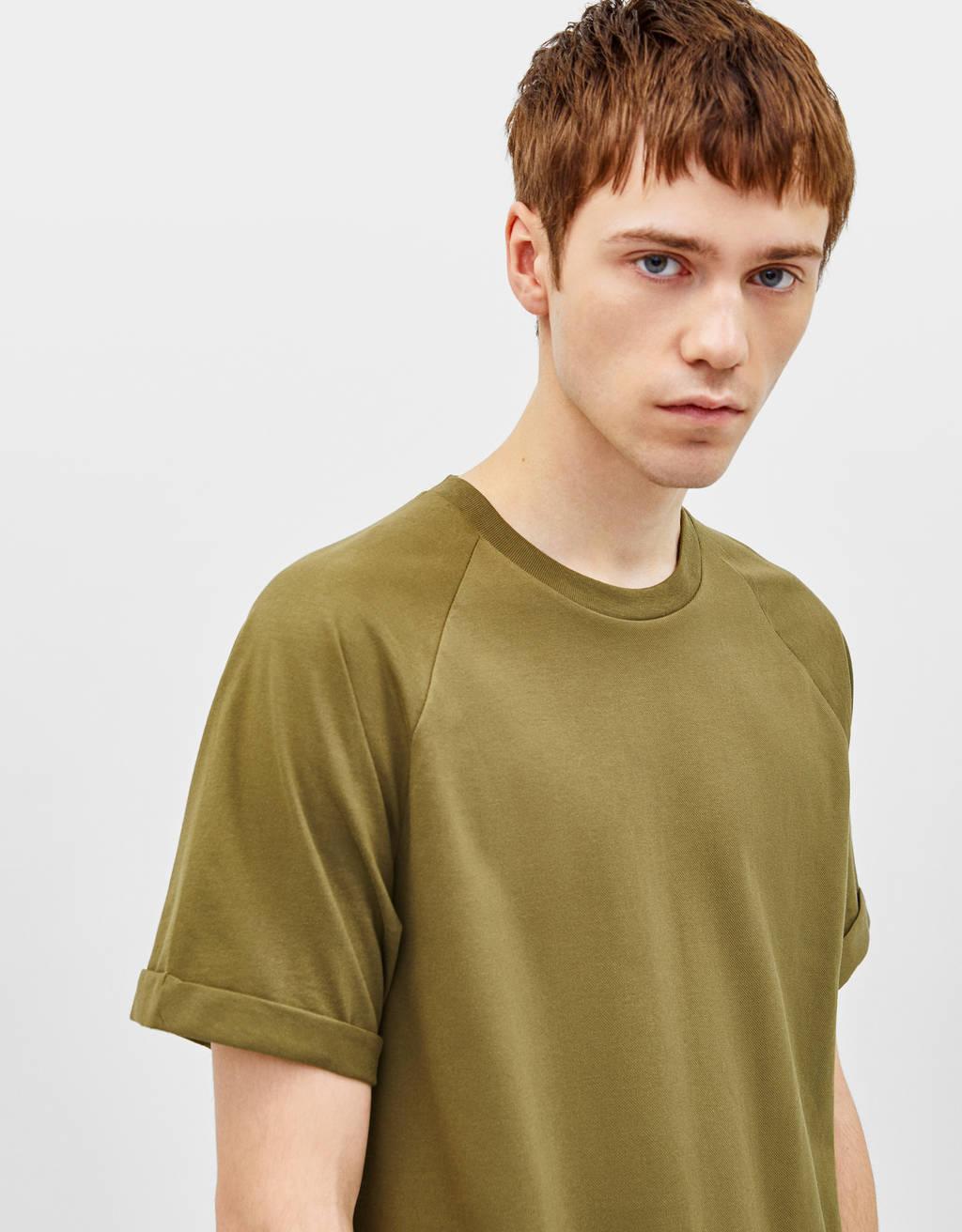 Pikė audinio marškinėliai