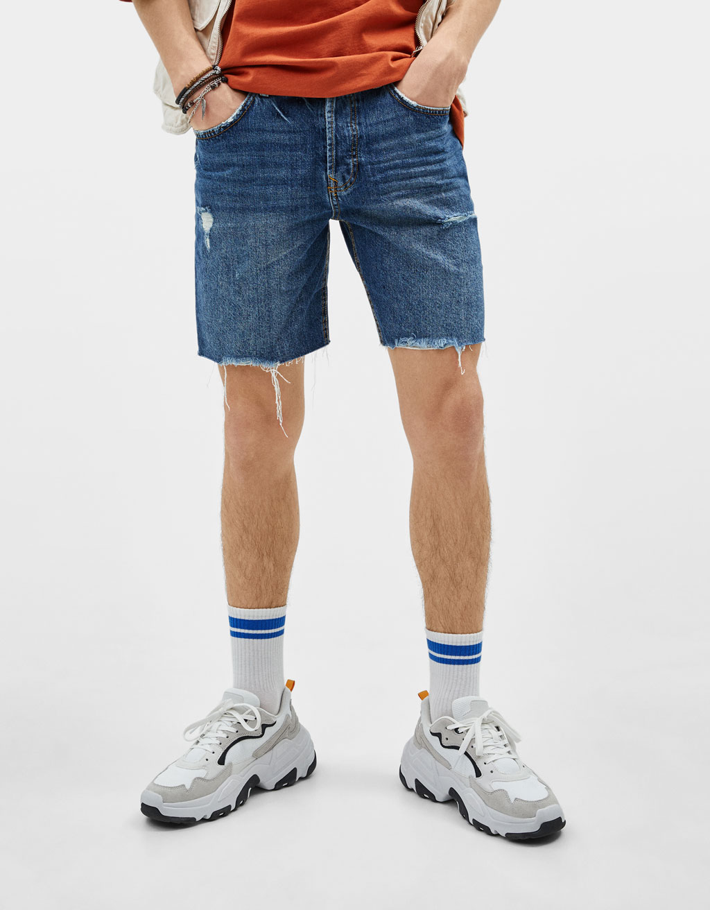 Bermudas ganga Slim Fit