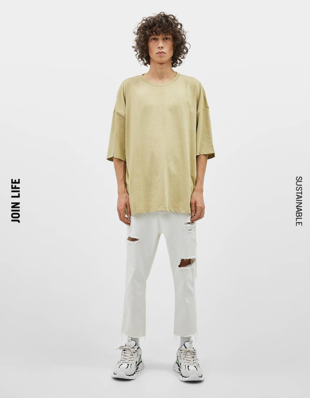 Extra loose fit T-shirt