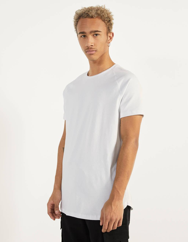 Μπλουζάκι μανίκι ρεγκλάν