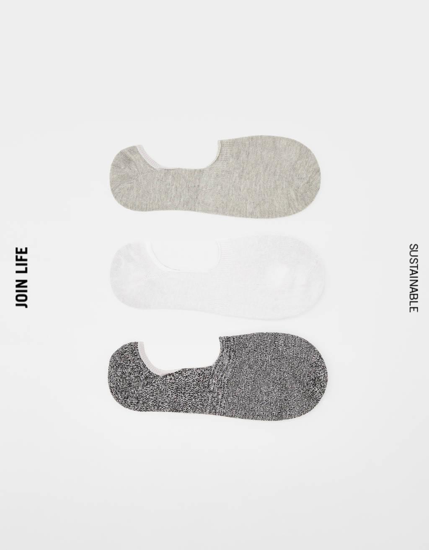 Lot de paires de chaussettes invisibles