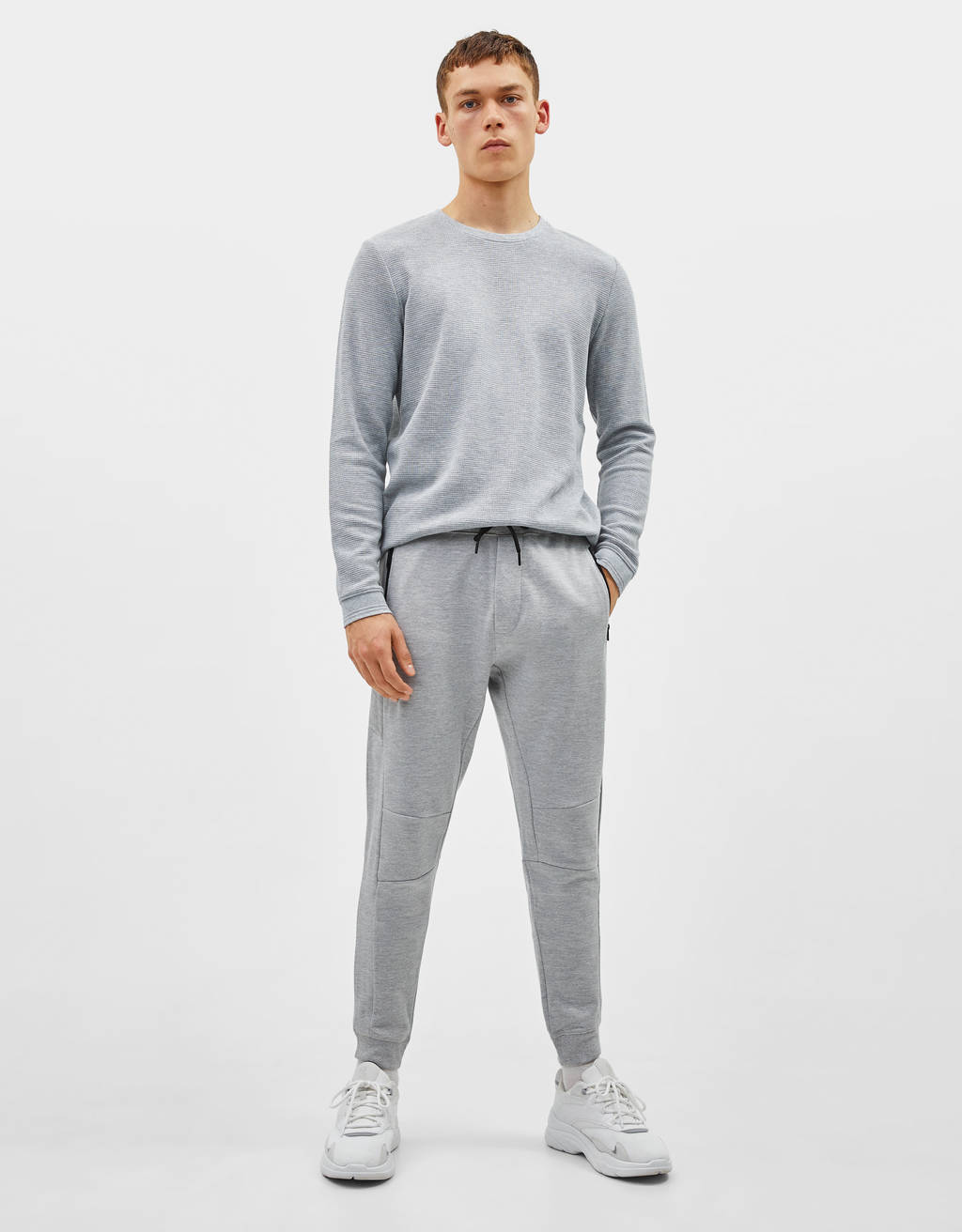 Jogger-Hose im Slim-Fit