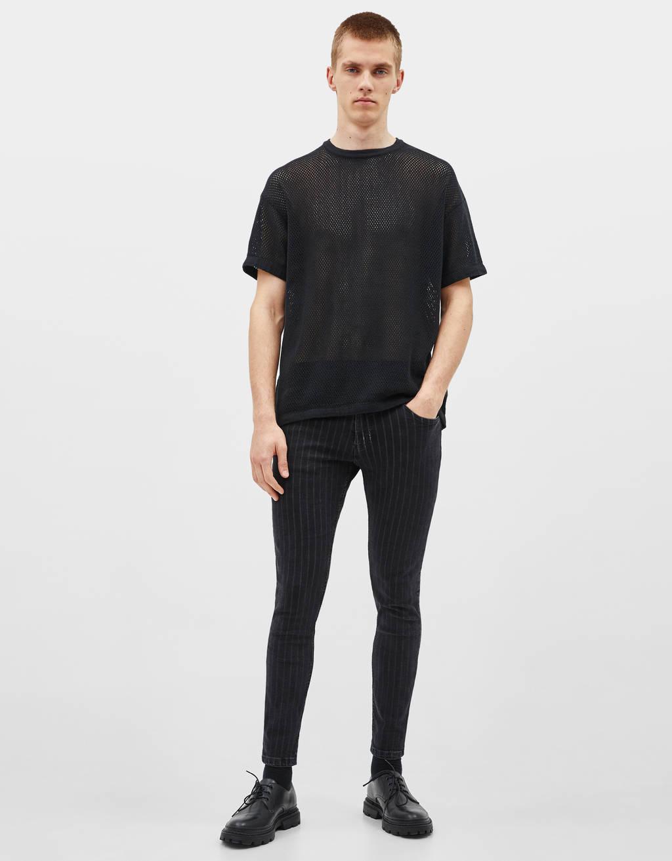 Skinny fit-broek