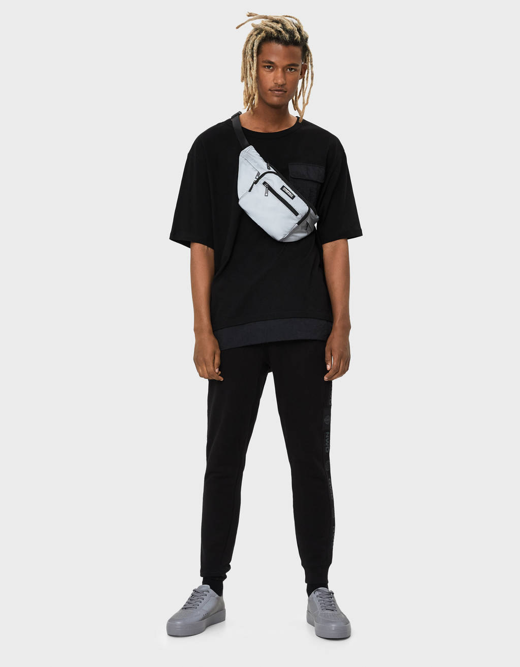 Jogging trousers with reflective detail